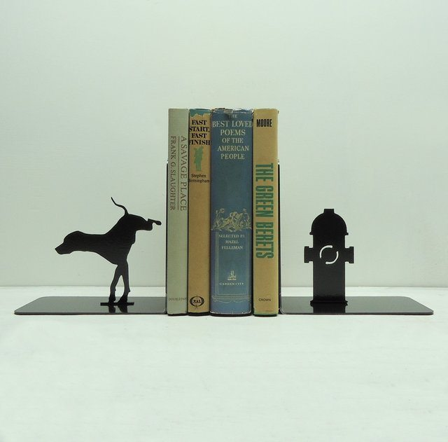 Fire Hydrant Bookends