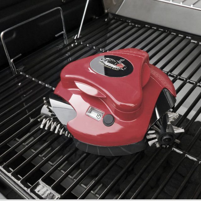grill-cleaning-robot