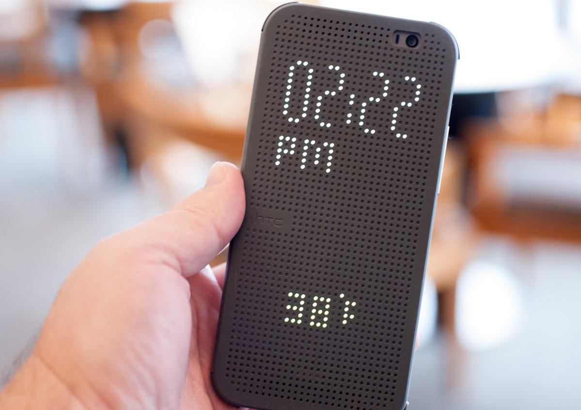 HTC+One+M8+Dot+View+Case