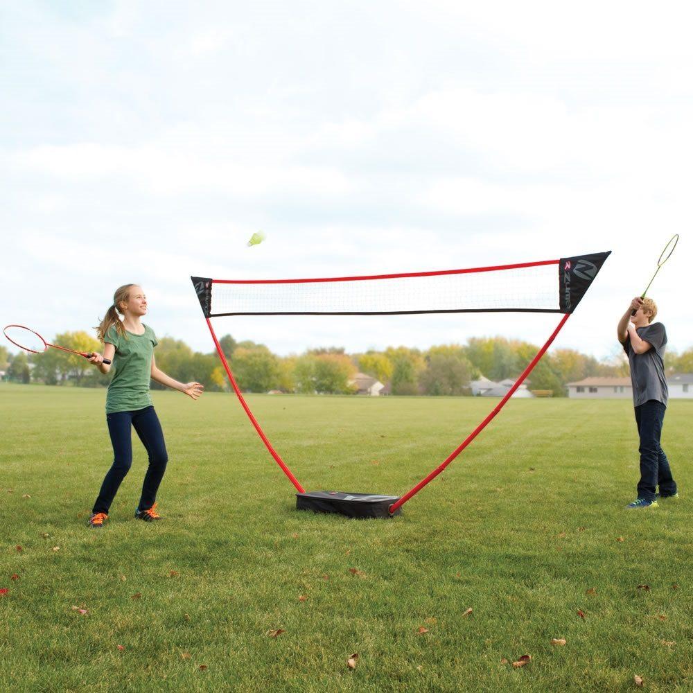 Instant Outdoor Badminton Court