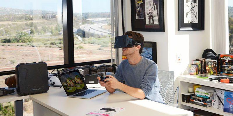 Oculus Rift on Kickstarter