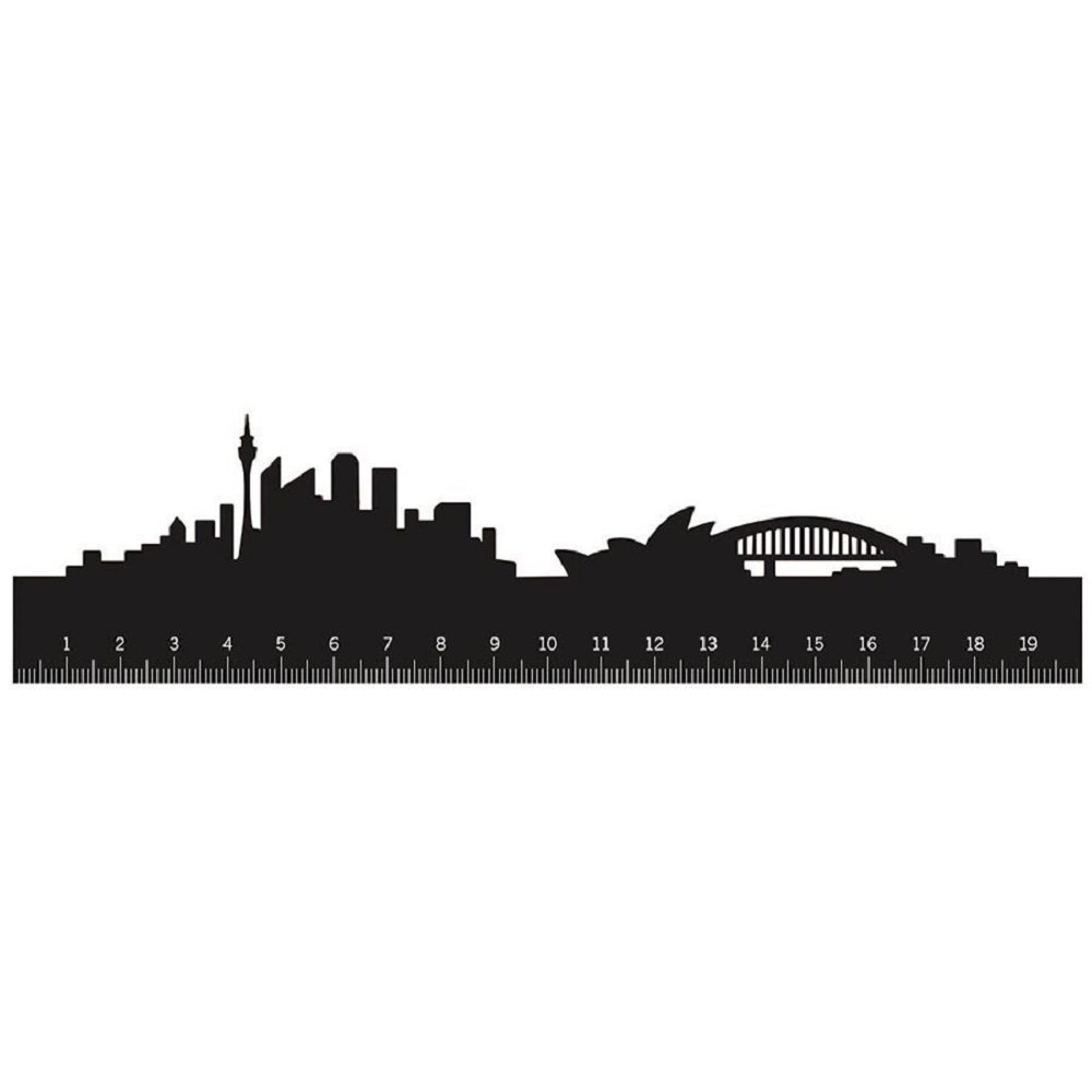Monkey Business Skyline Ruler