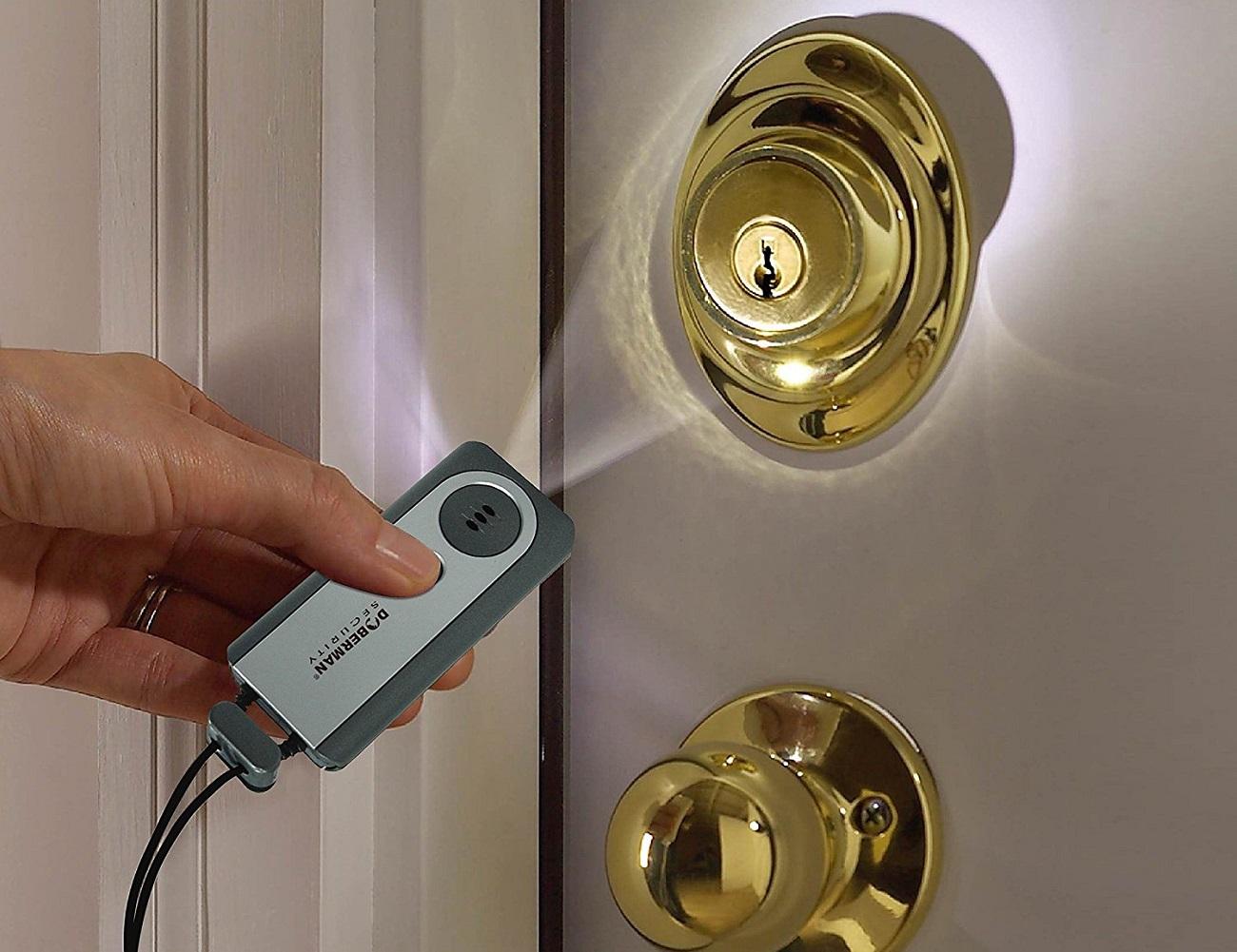 Motion Sensitive Portable Door Alarm
