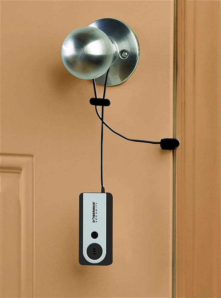 Motion Sensitive Portable Door Alarm 187 Gadget Flow