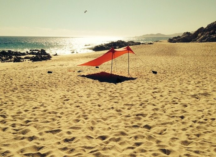 Neso Tents For Sunshade At The Beach Patent Pending