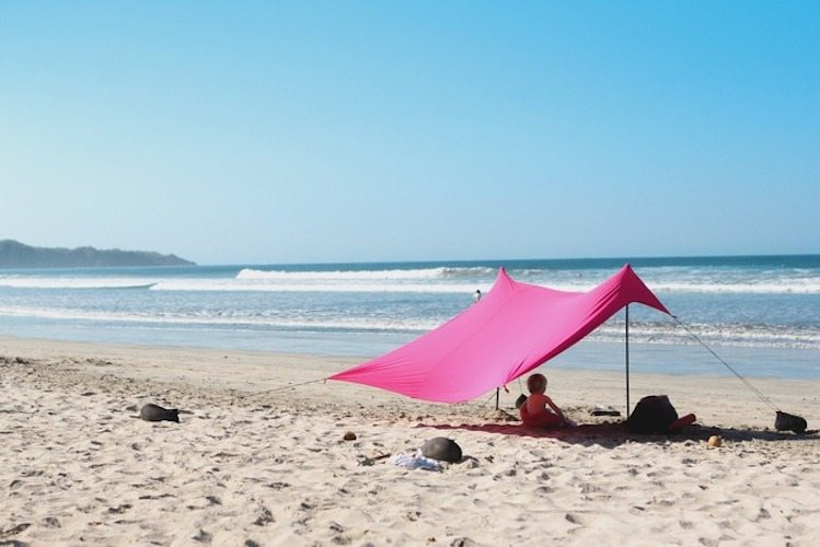 Neso Tents for Sunshade at the Beach – Patent Pending