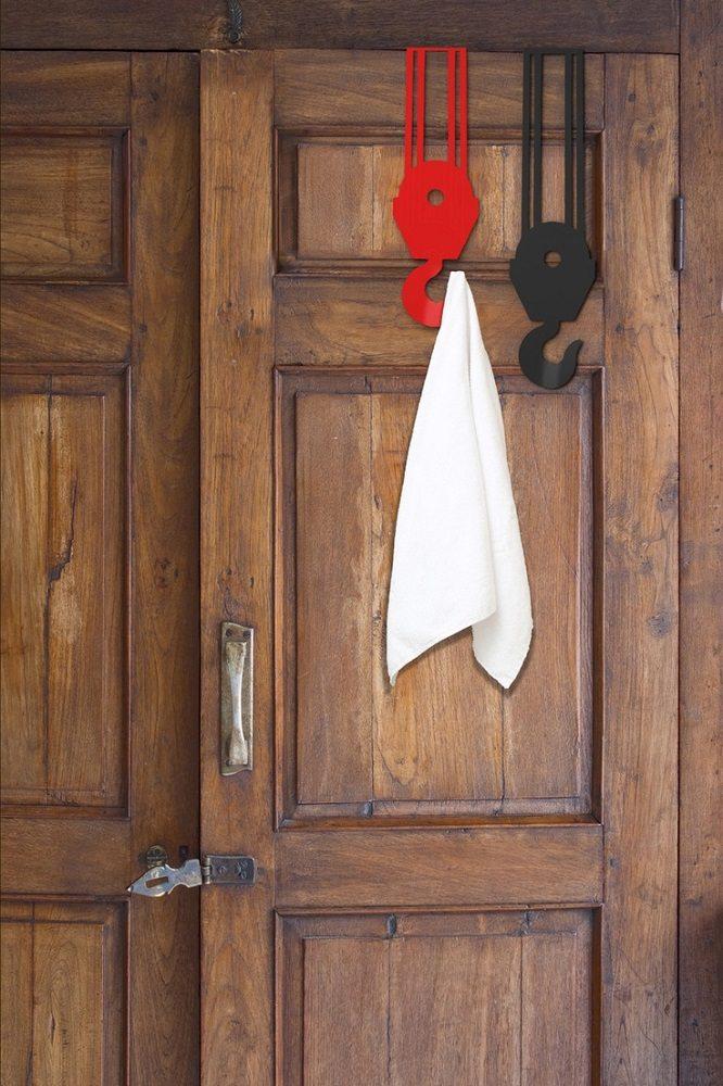 Over The Door 3 Tier Bathroom Towel Bar Rack Chrome W: Over The Door Crane Hooks » Gadget Flow