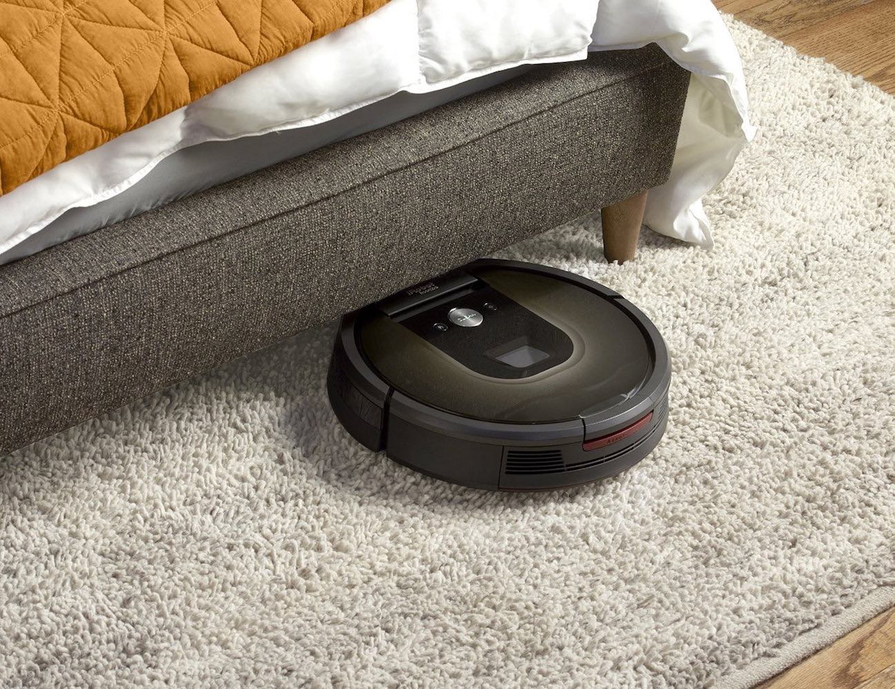 iRobot Roomba 980 vacuum cleaning robot can navigate through your home