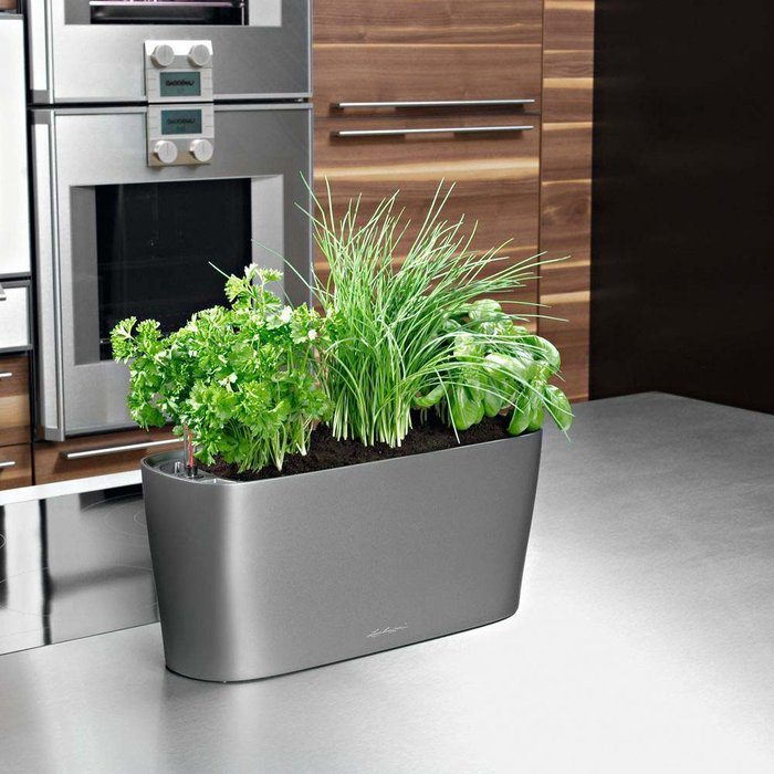 watering product planter self mosaic