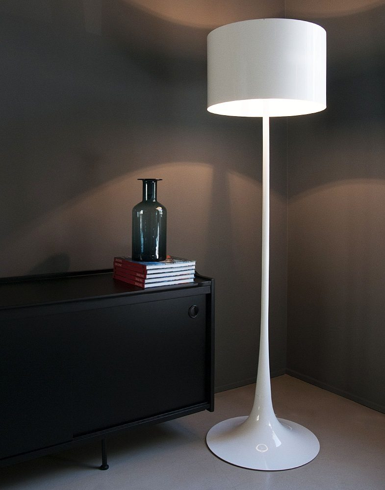 Spun floor lamp gadget flow for Lampada flos da terra