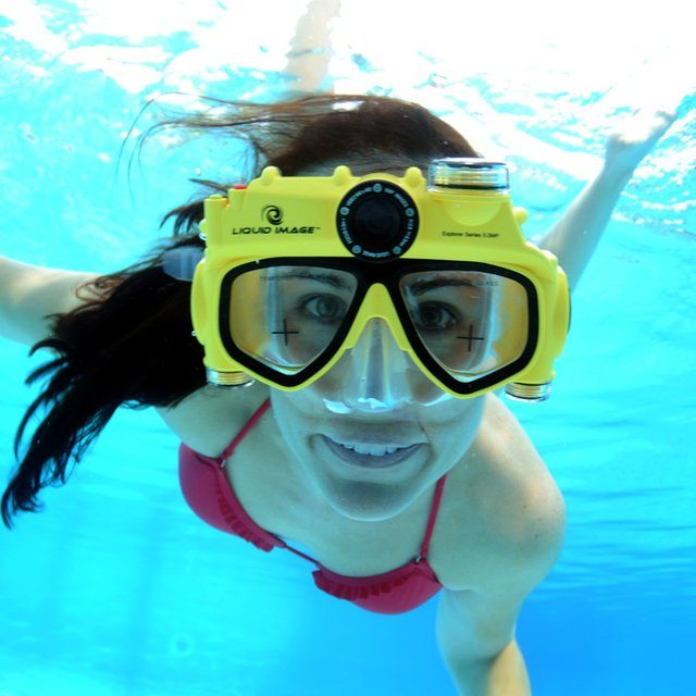 Underwater Digital Camera Swim Mask
