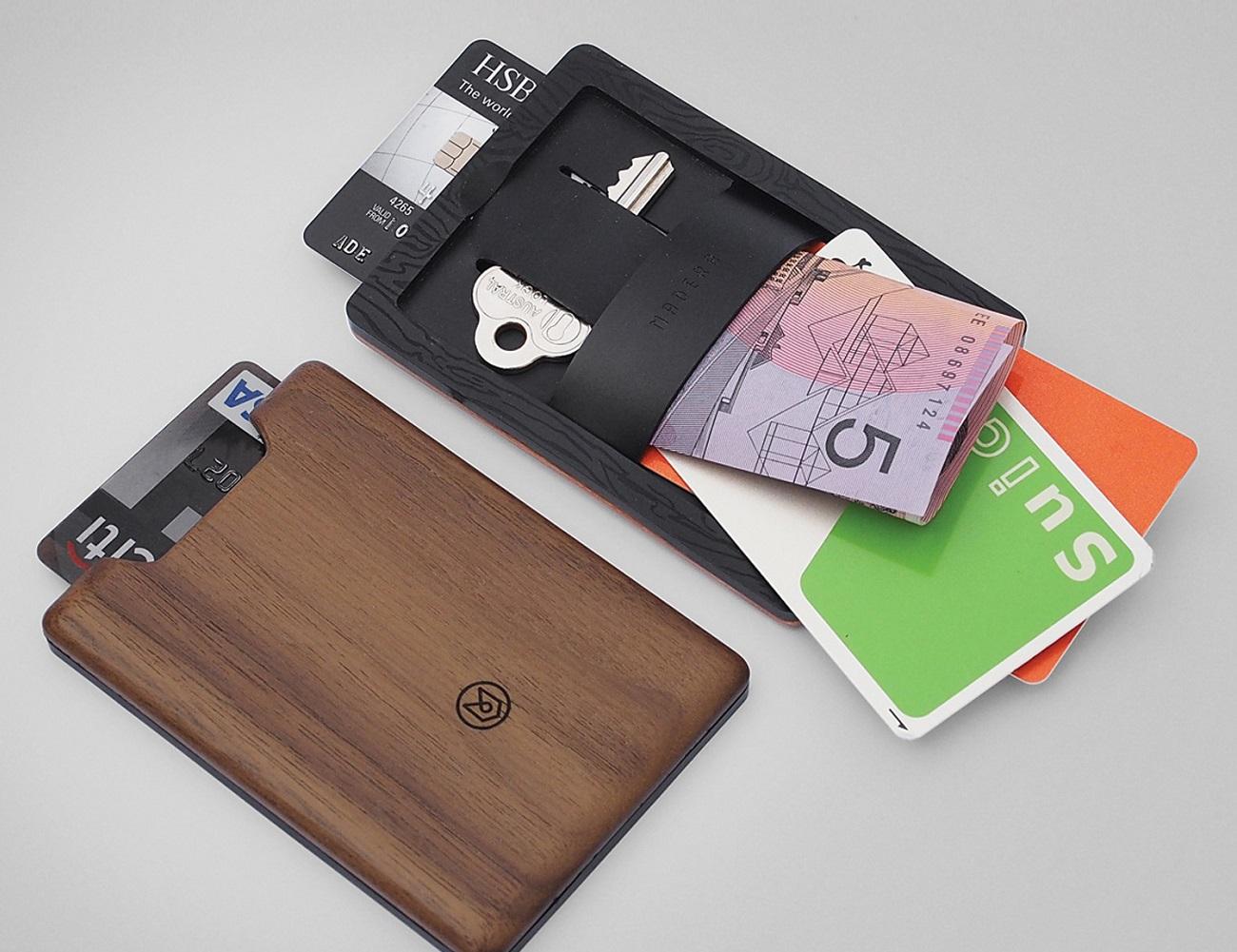 Union Wood Wallet