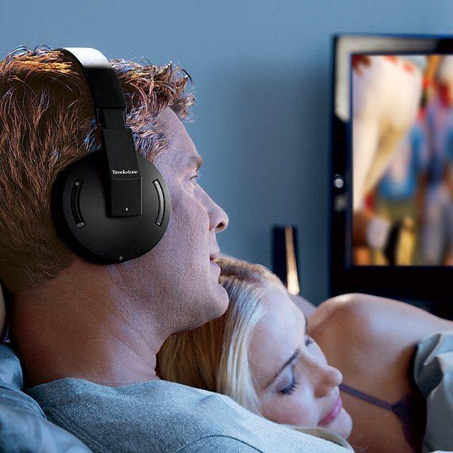 Wireless+TV+Headphones+By+Brookstone