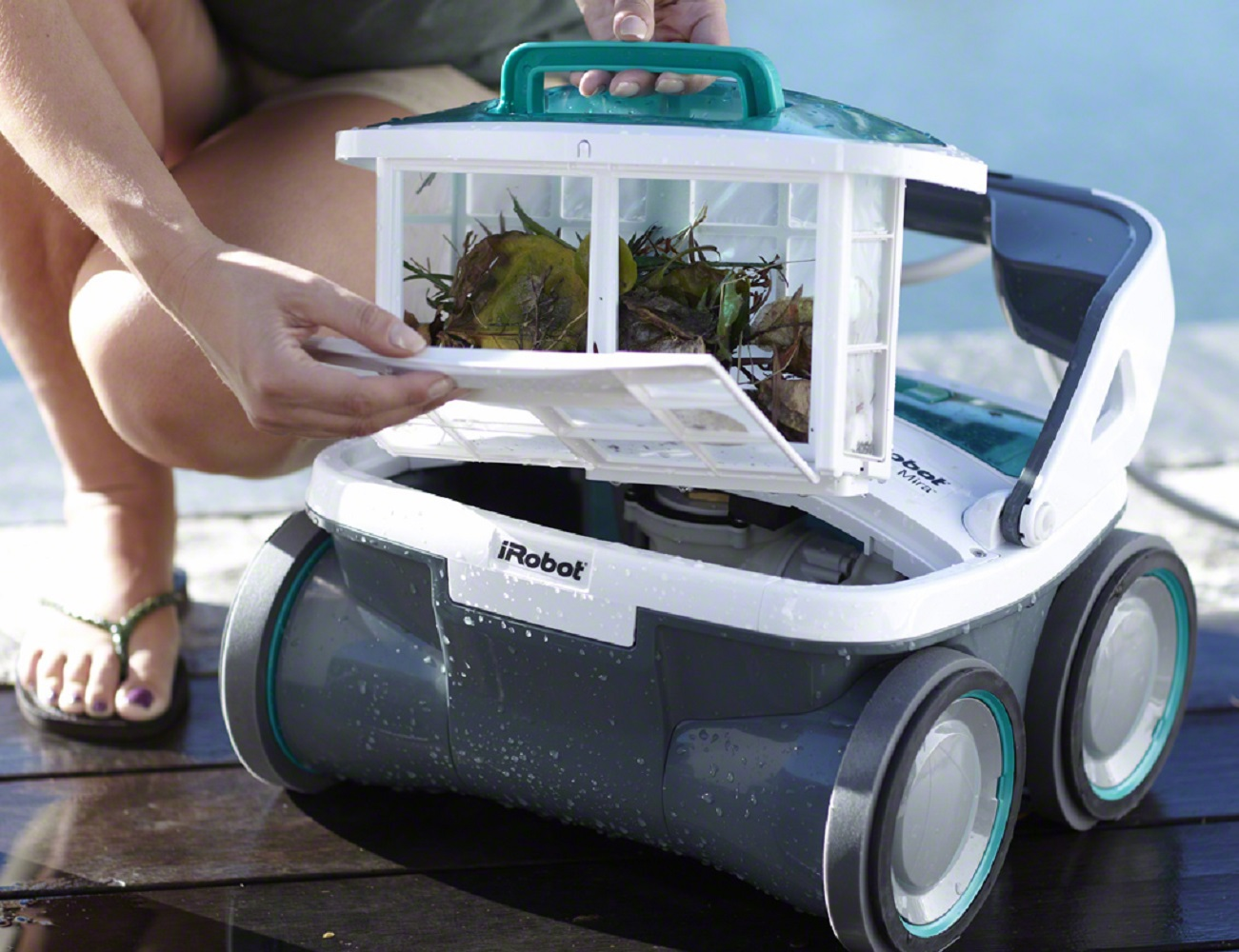 Irobot Mirra 530 Pool Cleaning Robot Gadget Flow