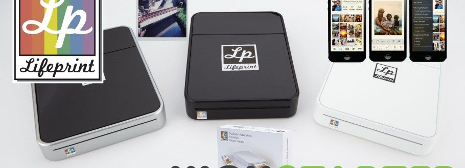 LifePrint:WiFi Photo Printer Brings Life and Tangibility to Those Pictures That Are Stuck on Your Smartphone