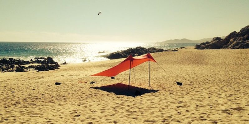 Neso Tents for Sunshade at the Beach – Patent Pending on The Gadget Flow
