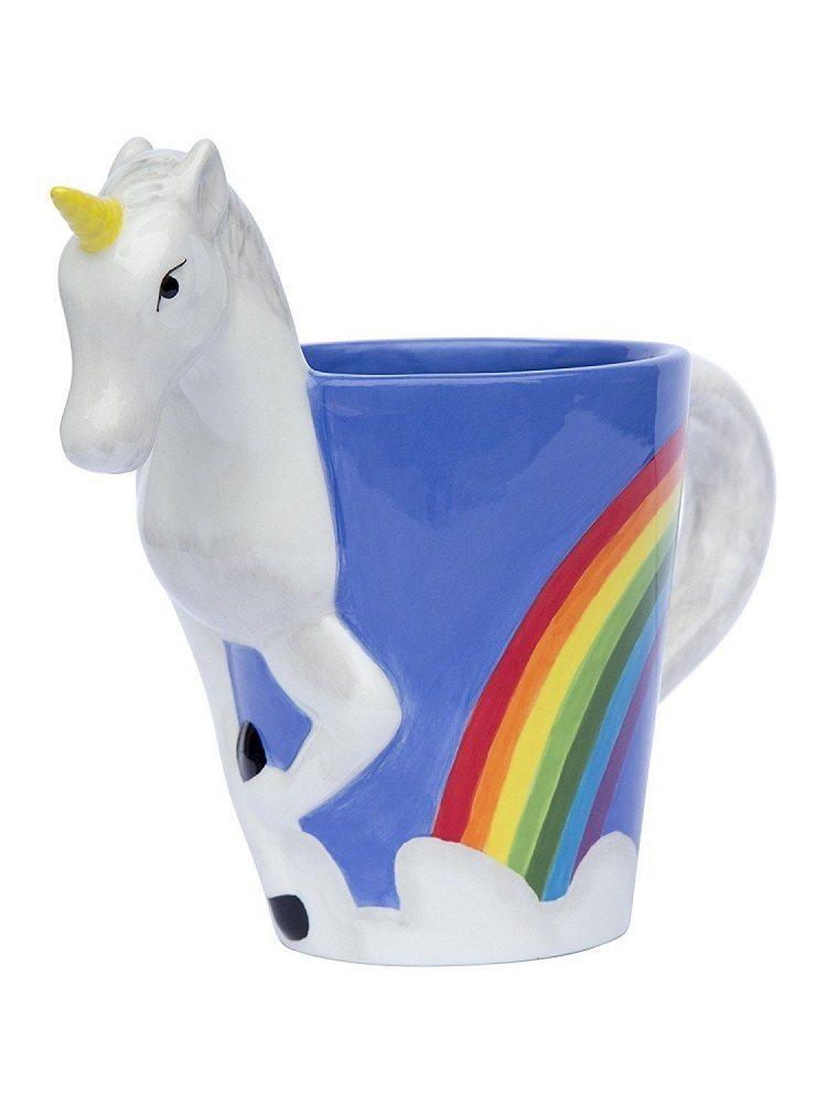 3D Unicorn Mug From ThinkGeek