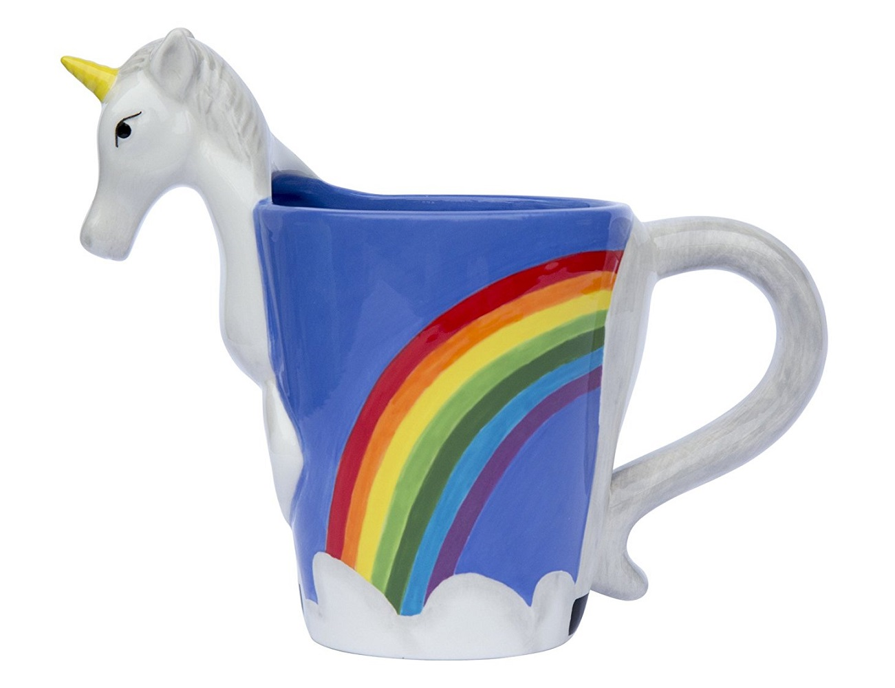3D Unicorn Mug From ThinkGeek