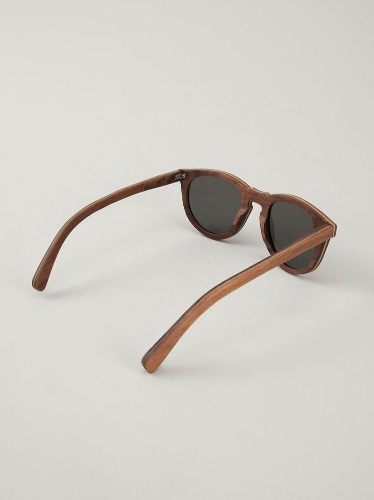 Belmont Oak Sunglasses by Shwood