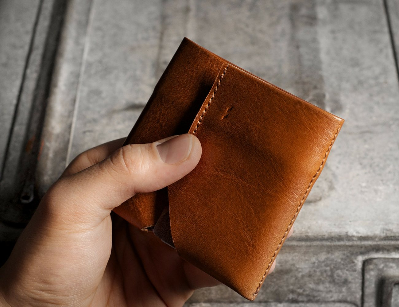 Bill Folder – Soft Leather Wallet by Hard Graft