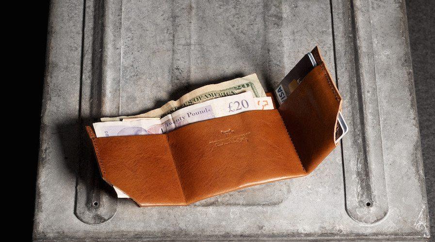 Bill Folder – Soft Leather Wallet by Hard Graft