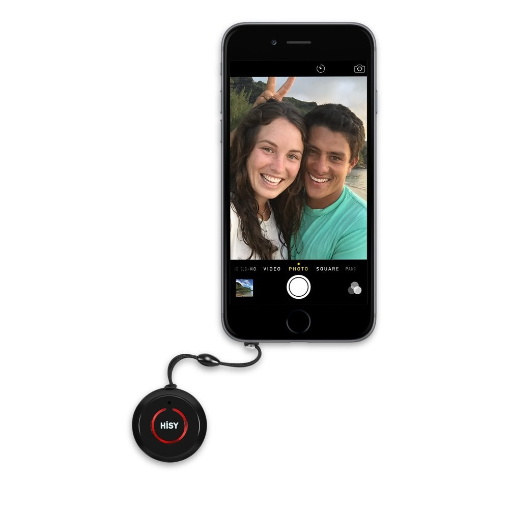 Hisy Bluetooth Camera Remote Shutter
