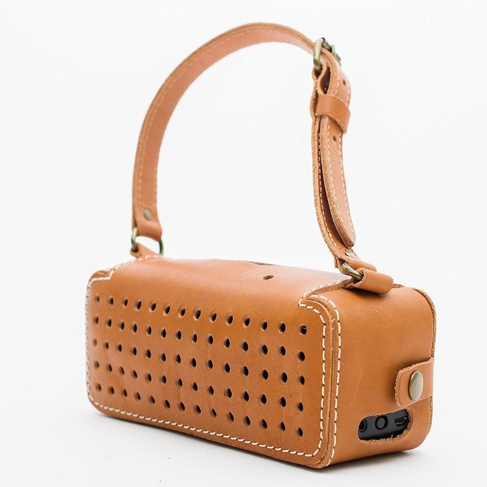 Leather Bluetooth Wireless Speaker