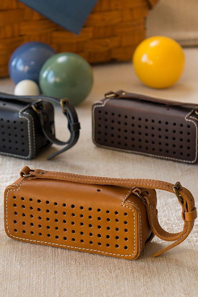 Leather+Bluetooth+Wireless+Speaker