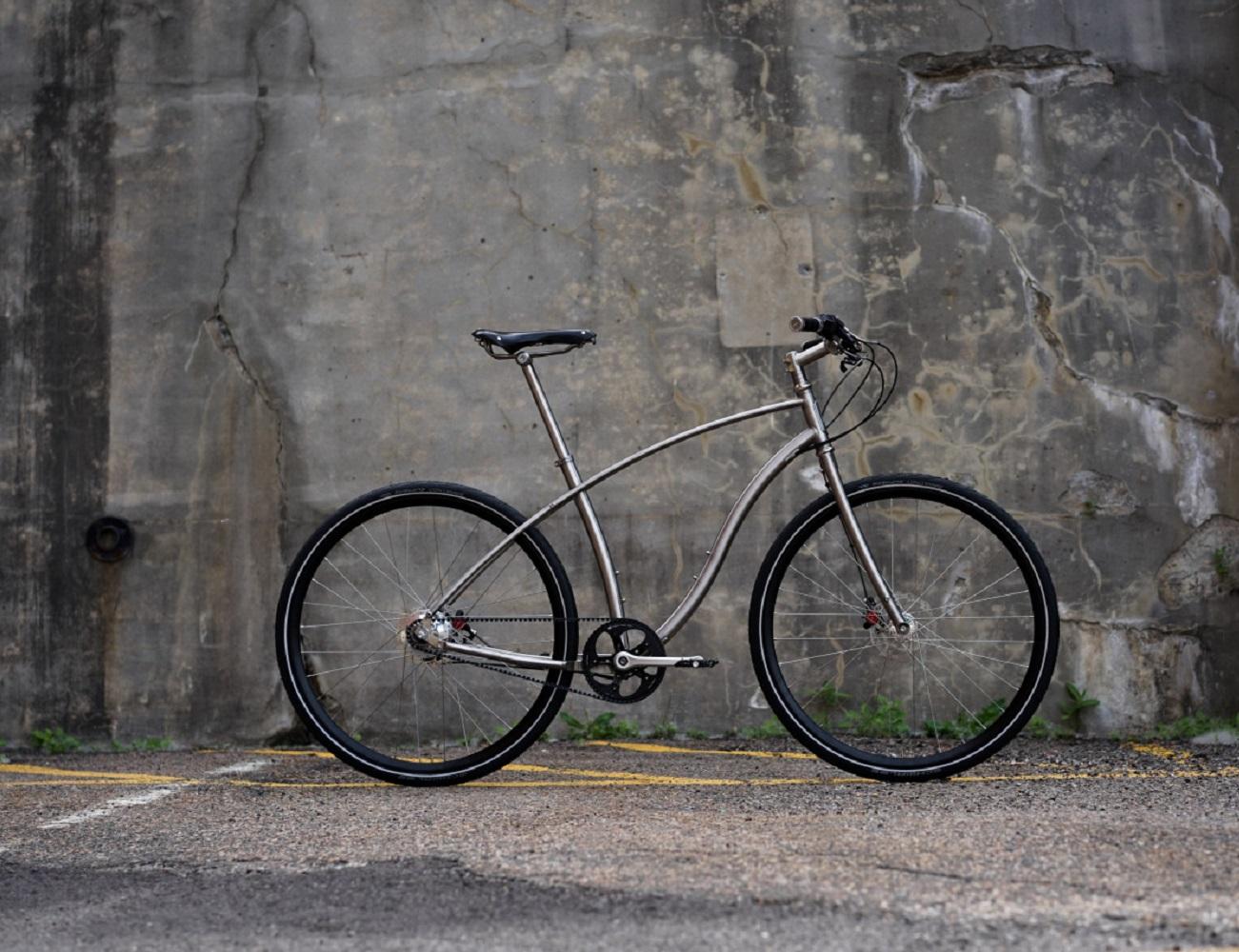 No. 1 Titanium City Bike