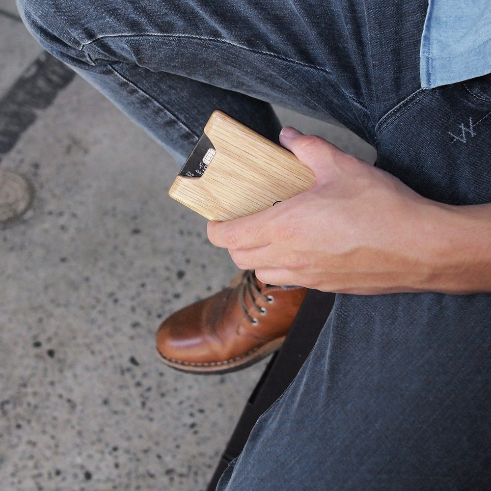 Oak+Union+Wallet+by+Madera