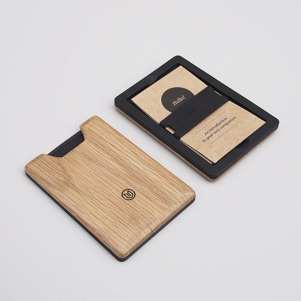 Oak Union Wallet by Madera