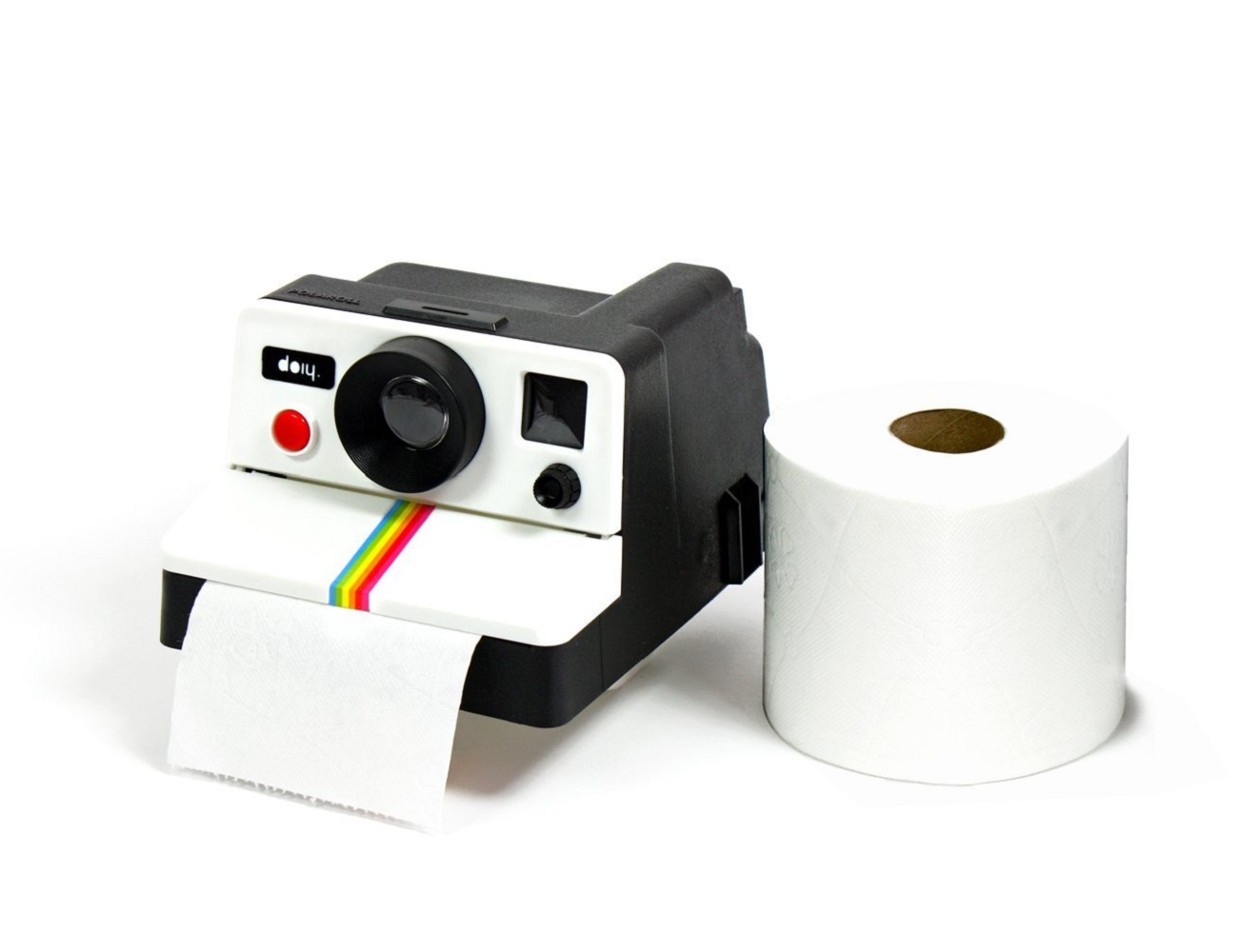 POLAROLL Toilet Paper Holder » Gadget Flow