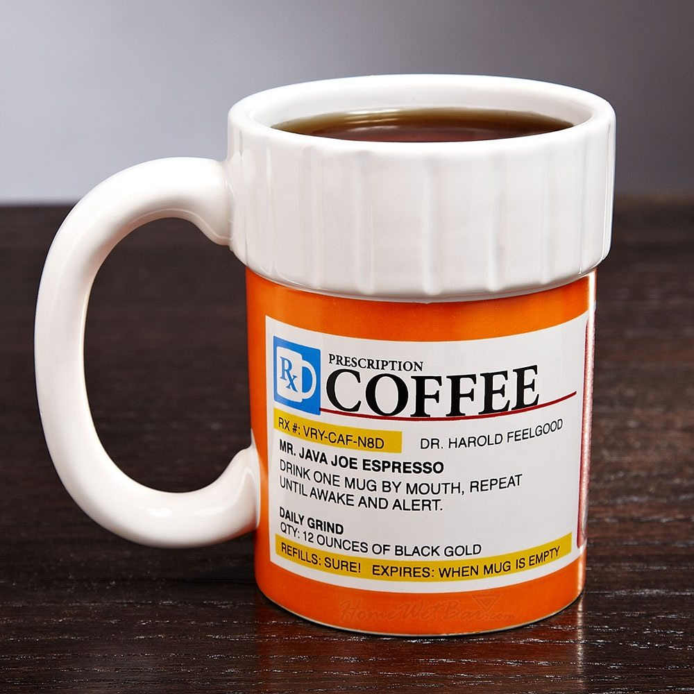 Prescription Bottle Coffee Mug