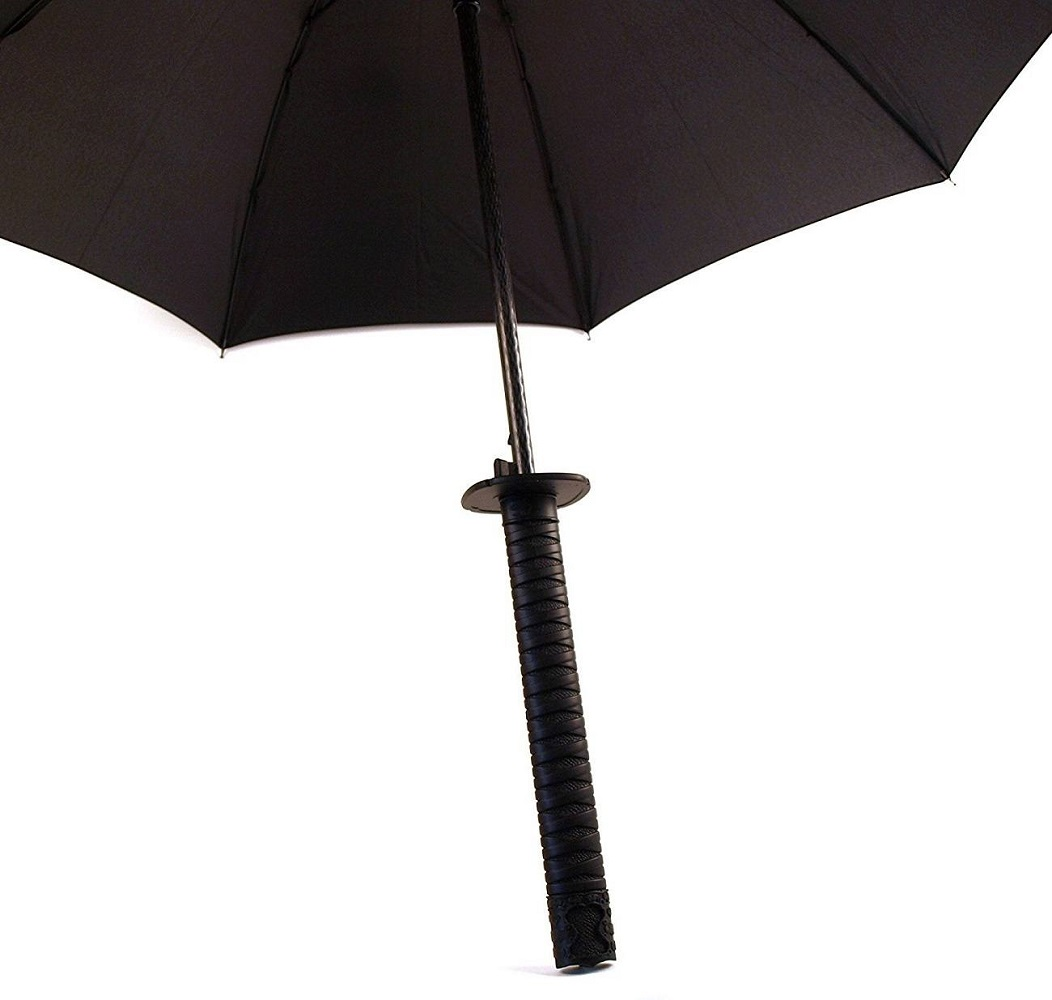 Samurai Umbrella Sword Handle