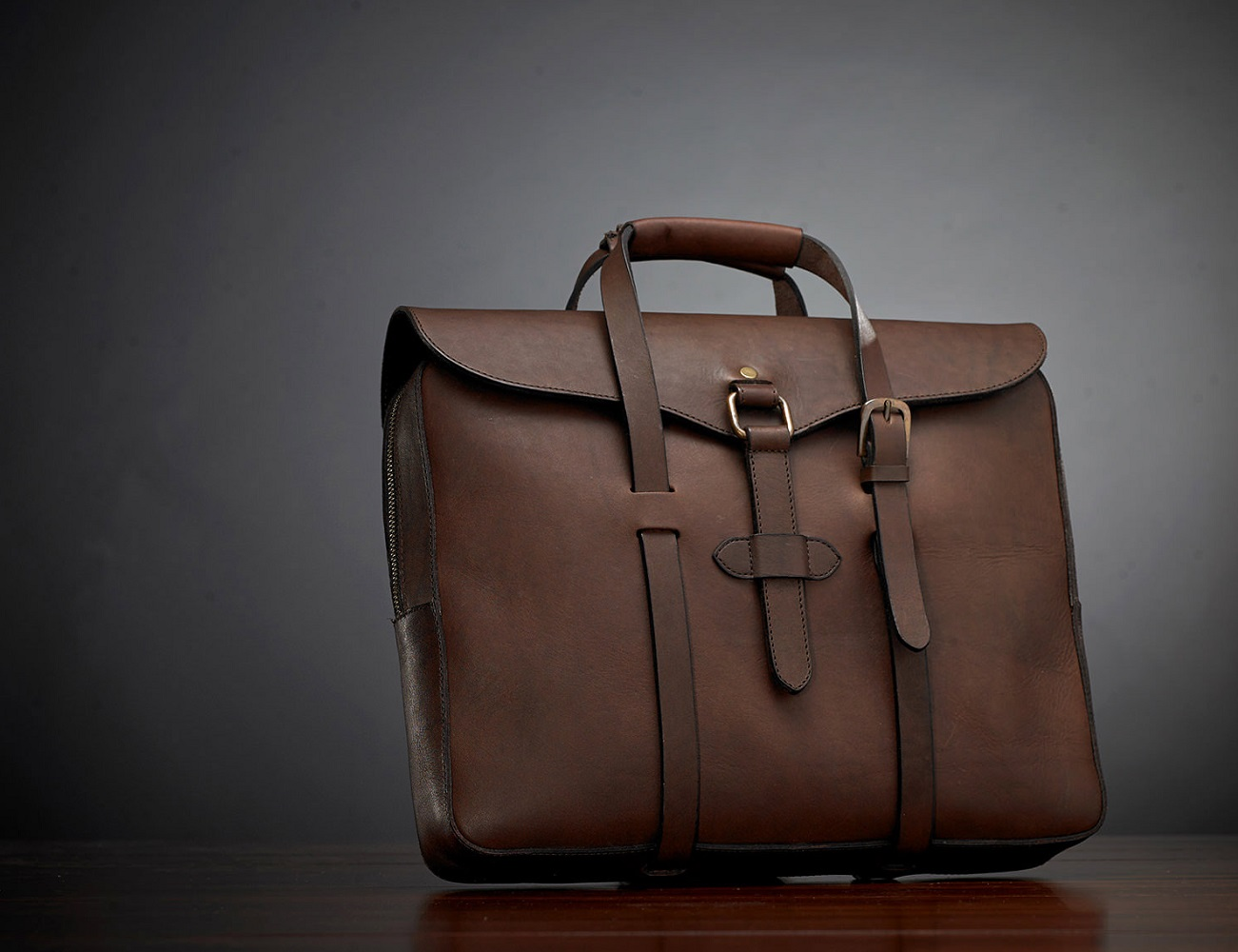The C.O. Series Leather Bag by Cravar