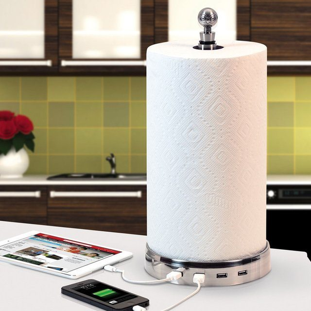 TowlHub+USB+Paper+Towel+Charger