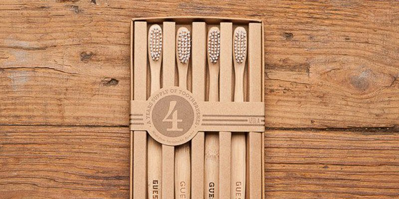 Eco-Friendly Guest Toothbrush Set