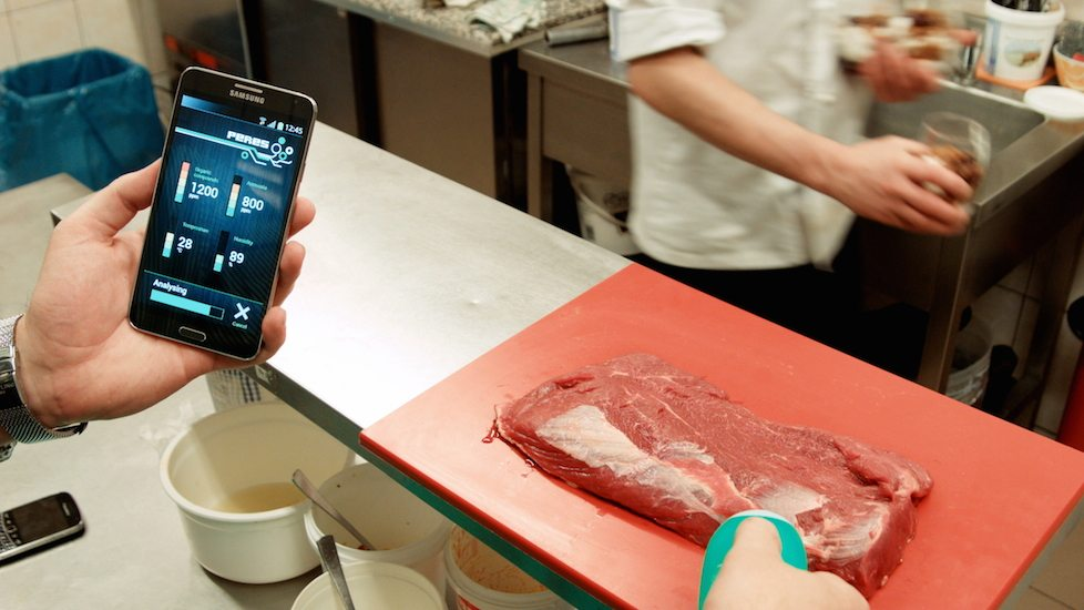 Peres – A Unique Device To Test The Quality & Freshness Of Your Food