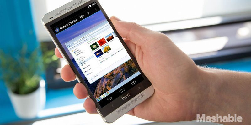 Google Remote Desktop for Android