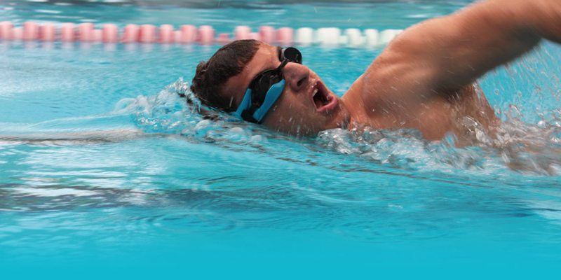 Instabeat HeadsUp Display for swimmers