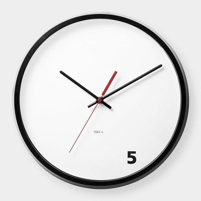 5-oclock-wall-clock
