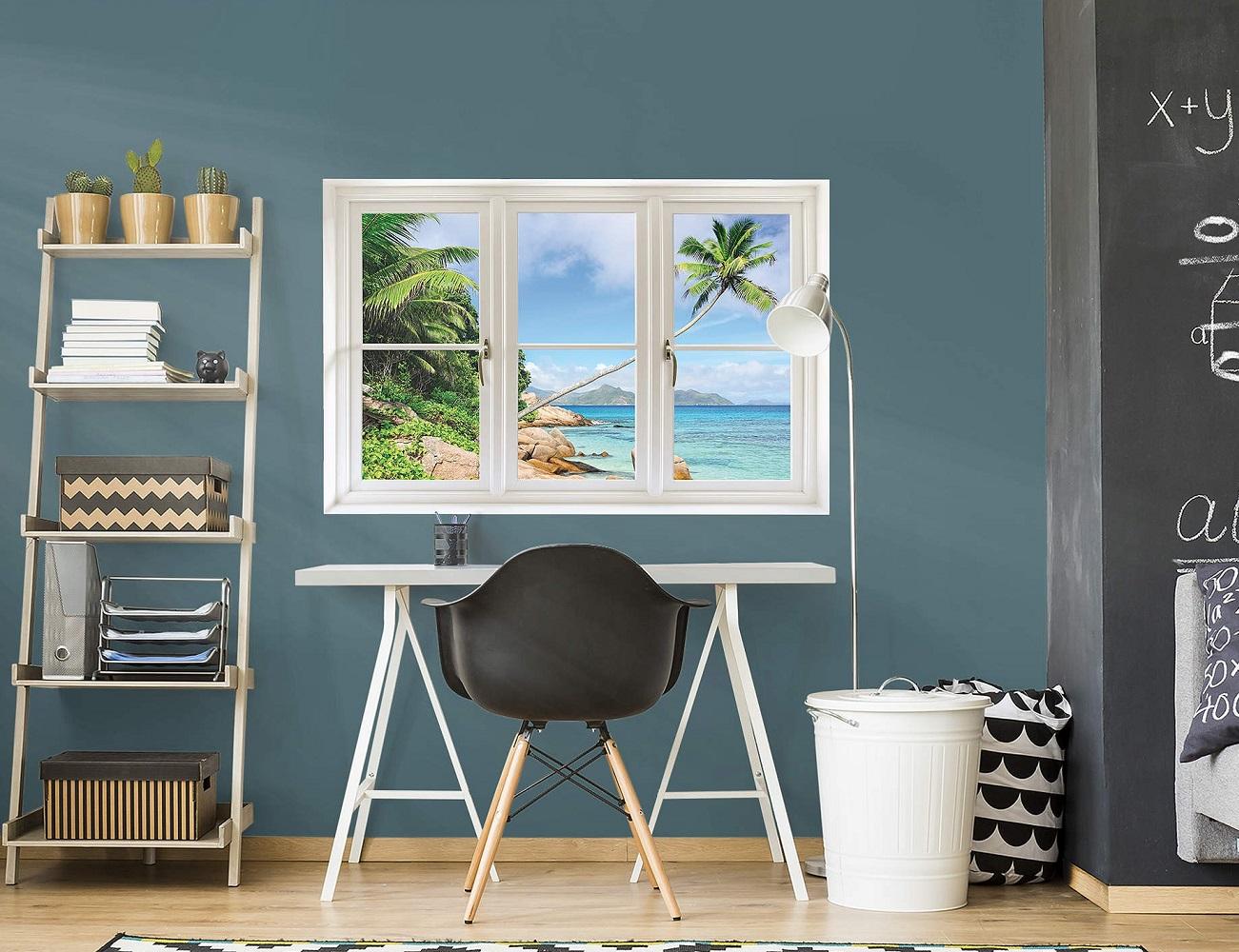 Beach+Instant+Window+By+Fathead