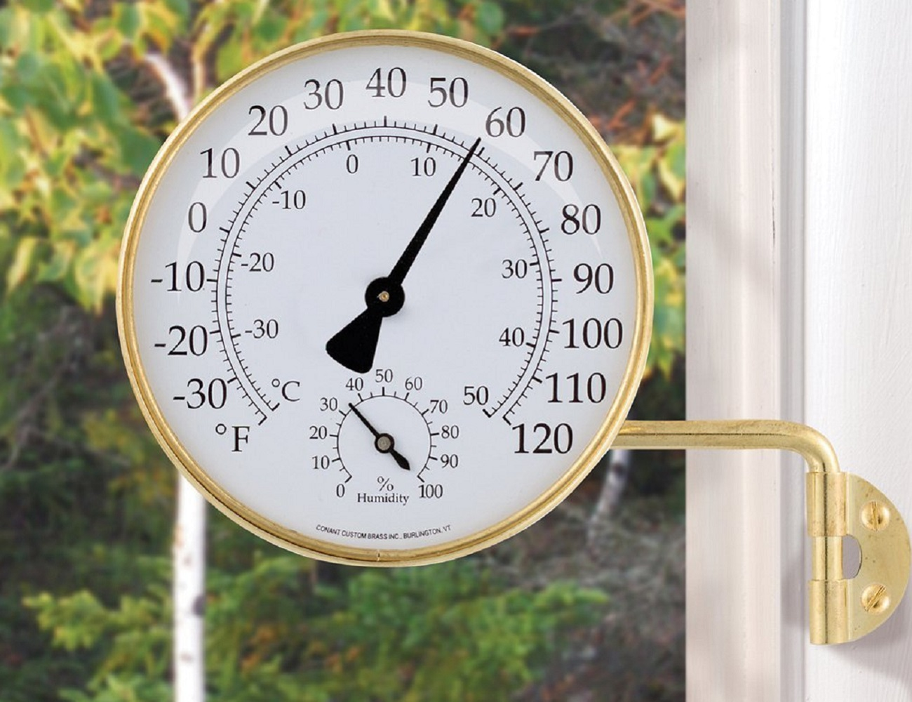 Brass Weather Station