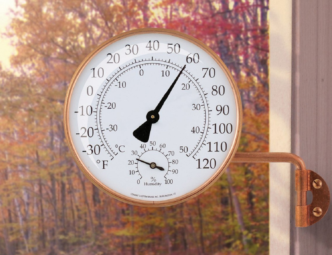 Brass Weather Station