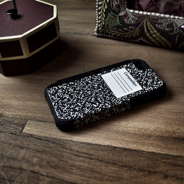 Composition Notebook iPhone 5/5s Bumper Case