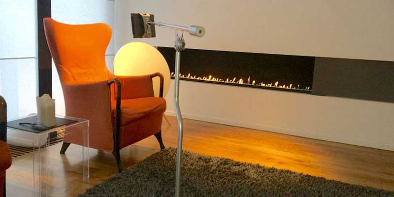 FLOTE tablet stand complements your interior