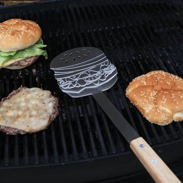 GAMAGO Burger Flipper, Chrome loading=