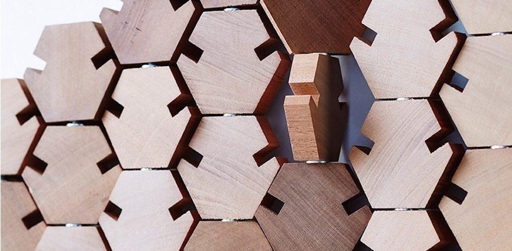 Geometric Puzzle Wardrobe