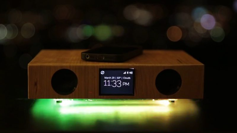 Glowdeck syncs LED lights with your music giving you beautiful ambiance that accompanies your favorite tunes.
