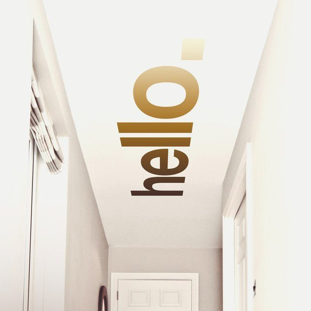 hello-hallway-ceiling-sticker